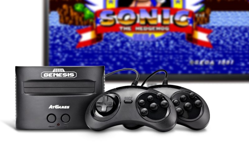 New Atari 2600/Sega Genesis Consoles from AtGames Pre-Orders Available Now