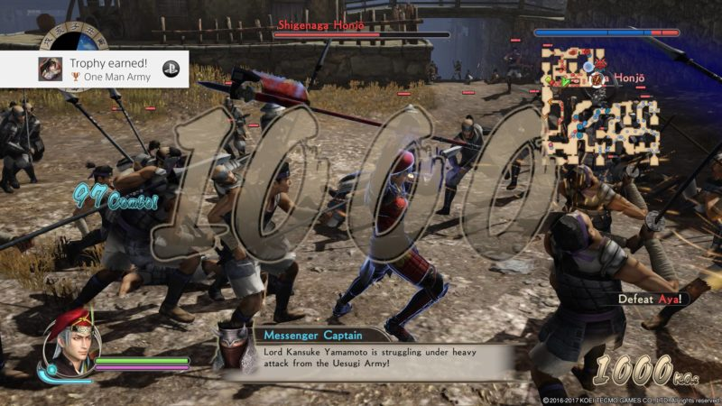 SAMURAI WARRIORS: Spirit of Sanada REVIEW for PS4