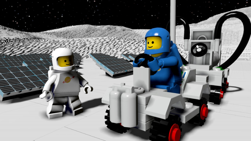 LEGO Worlds Classic Space DLC Pack Available Now