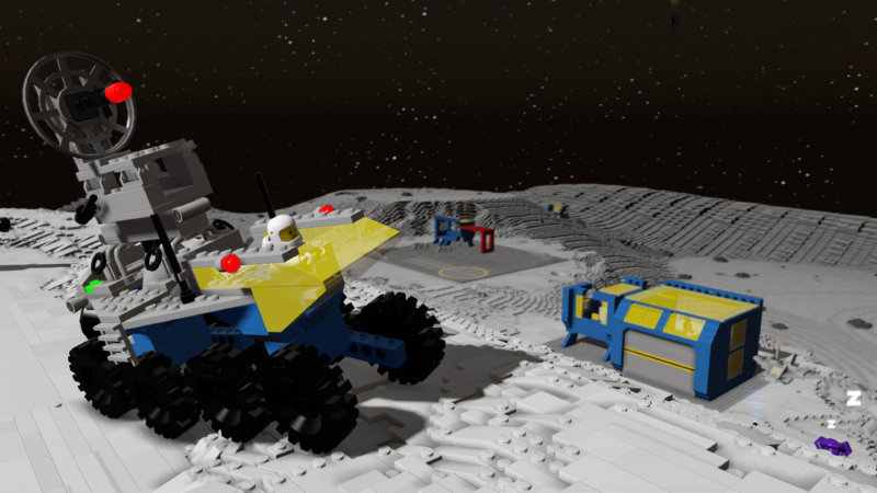 LEGO Worlds Adds Iconic Classic Space DLC Pack, Nintendo Switch Release Confirmed