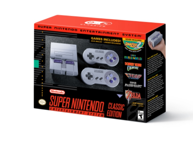 Nintendo Announces Super NES Classic Edition