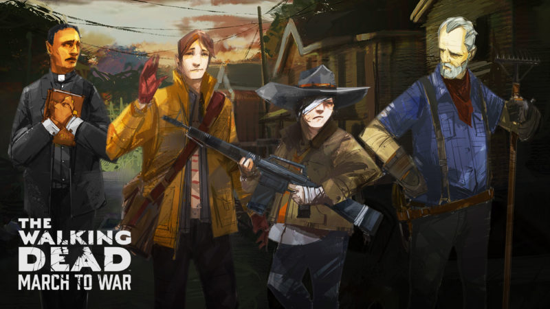 The Walking Dead: March to War Story Details and New Art Revealed