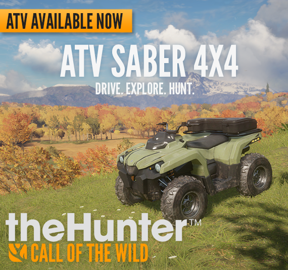 theHunter: Call of the Wild ATV Saber 4X4 DLC Review for PC
