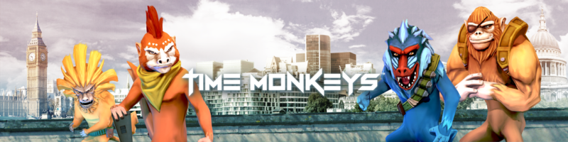 TIME MONKEYS Arcade Shooter from Kwalee Now Available on Amazon Fire TV