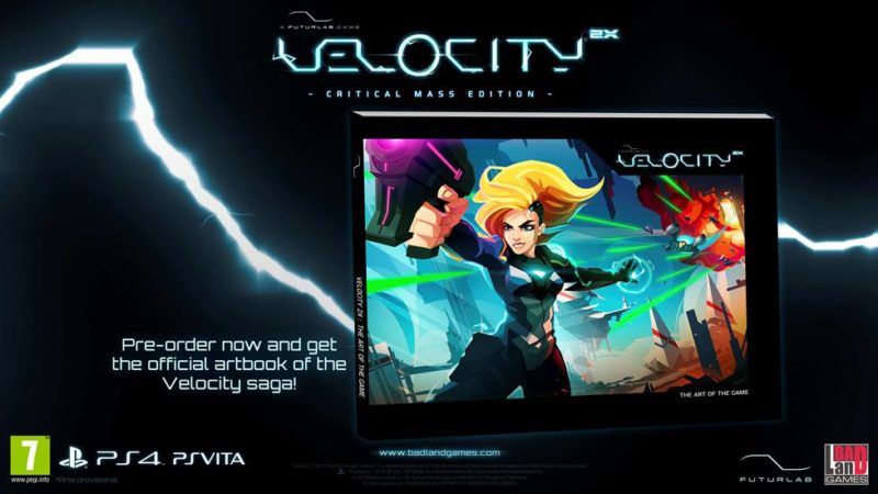 Velocity 2X: Critical Mass Edition Coming to PS4 & PS Vita in Select Locations June 30