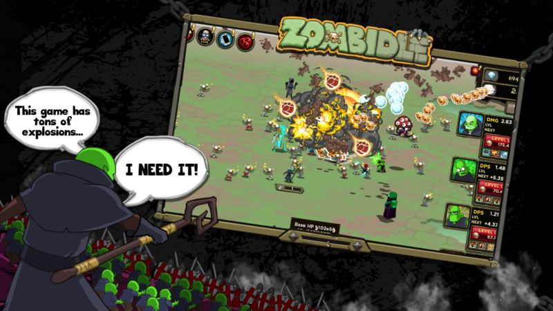 Zombidle: Remonstered Now Available on Steam