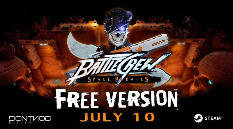 BATTLECREW SPACE PIRATES by DONTNOD ELEVEN Releasing Fully on Steam July 10