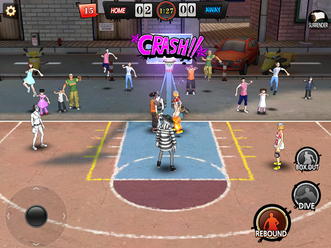 Dunk Nation 3x3 Now Available for Mobile