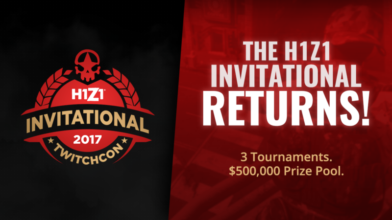 Daybreak Games Hosting 3rd Annual H1Z1 Invitational at TwitchCon 2017