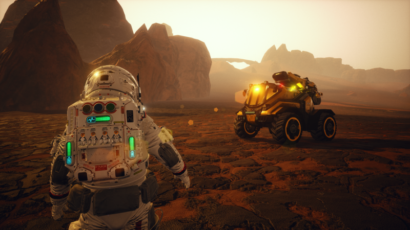 JCB Pioneer: Mars Coming to PC this Summer
