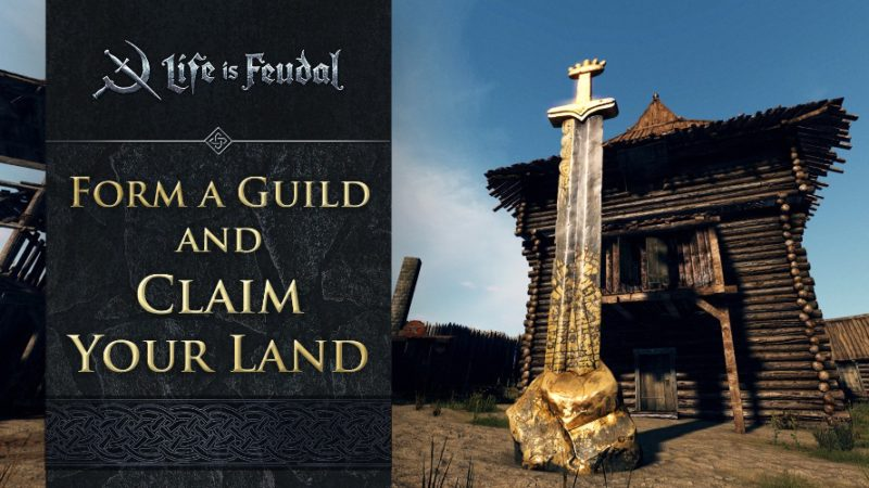 Life Is Feudal: MMO New Guild Trailer Released