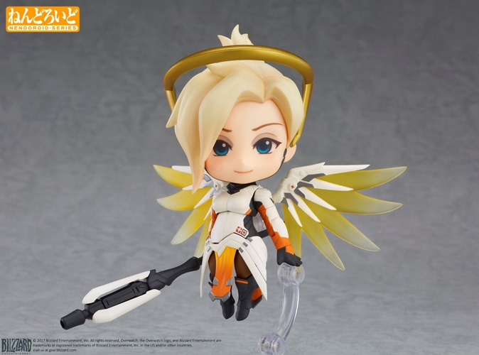 Mercy from Overwatch Joins Good Smile Company's Nendoroid Lineup