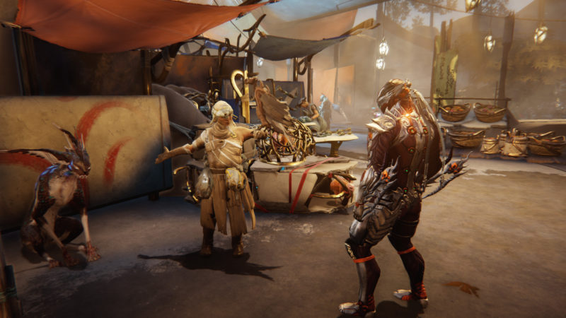 Warframe Reveals PLAINS OF EIDOLON Expansion at TennoCon