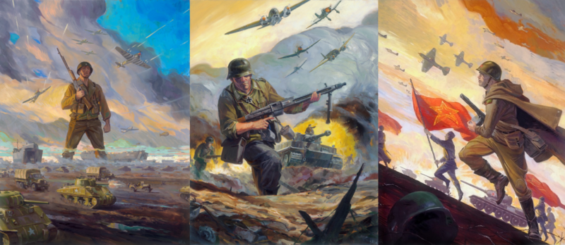 Choose Your Side: Sudden Strike 4 Reversible Cover Art by Game of Thrones Artist Revealed
