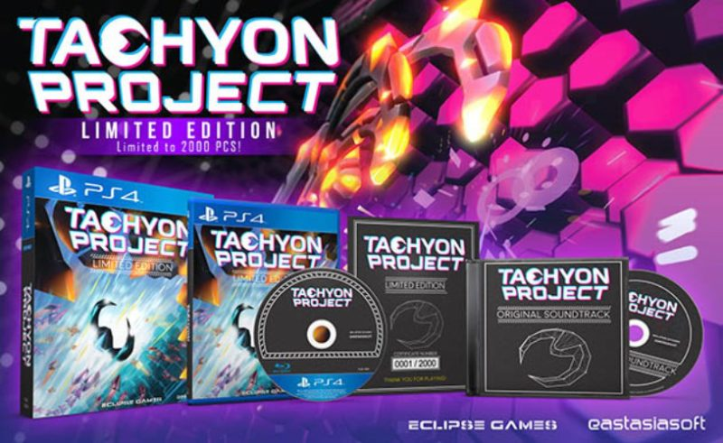 Tachyon Project Announced for PlayStation 4 and Vita for this August