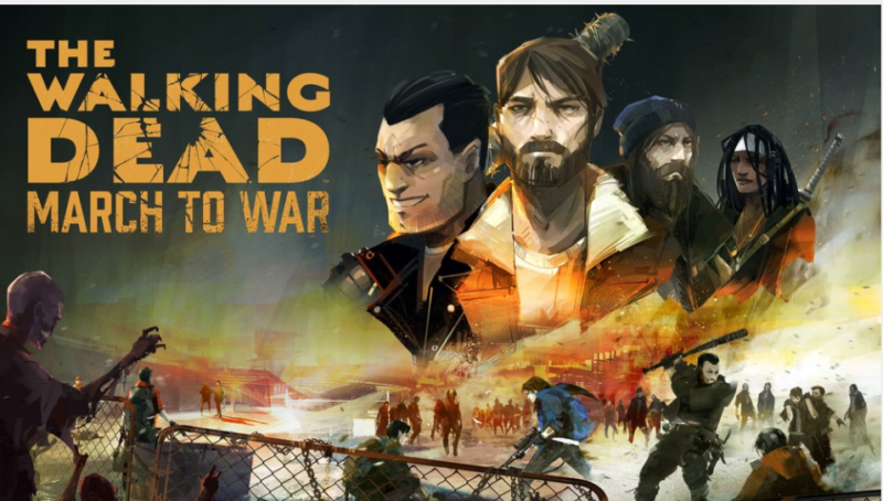 The Walking Dead: March To War Pre-Launch Gameplay Trailer Revealed
