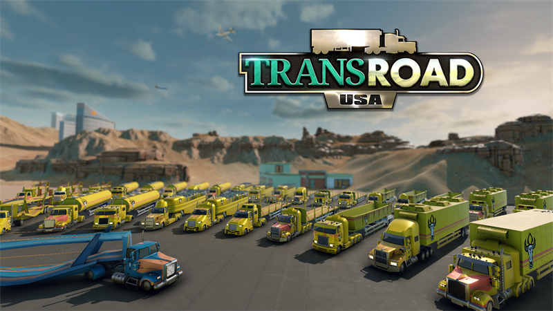 TransRoad: USA - Trucks and Trailers Detailed