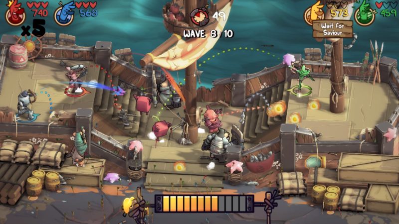 ARROW HEADS Avian Archery Battler Announces Multiplayer Arena and Arcade Modes