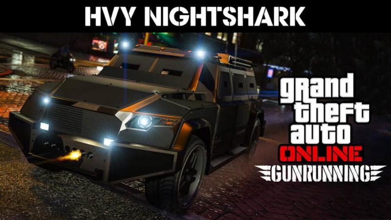 GTA Online Overtime Shootout Adversary Mode, HVY Nightshark Weaponized Vehicle & More