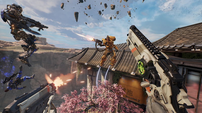 LawBreakers Gravity-Defying FPS Now Available, Lets You Compete in Fierce, Fast-Paced Combat