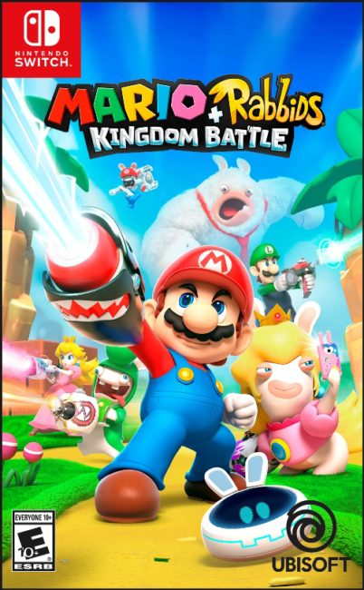 MARIO + RABBIDS KINGDOM BATTLE Available Now on Nintendo Switch