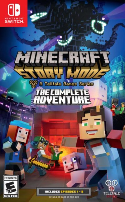 Telltale's Minecraft: Story Mode - Season Two Continues Aug. 15; First Season Debuts on Nintendo Switch Aug. 22