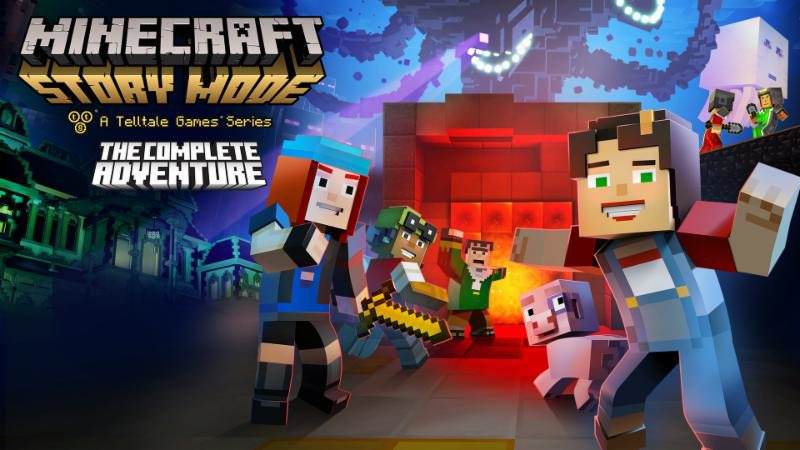 Minecraft: Story Mode - The Complete Adventure Now Out at Retail and for Download on Nintendo Switch
