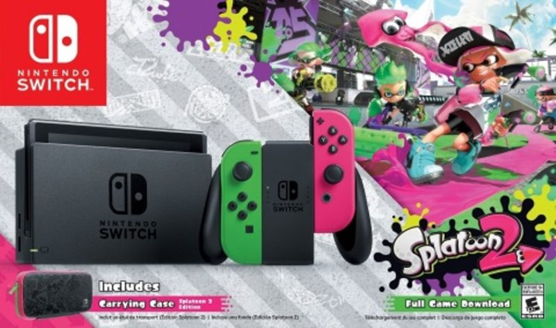 Nintendo Switch Splatoon 2 Edition Bundle Heads Exclusively to Walmart Stores
