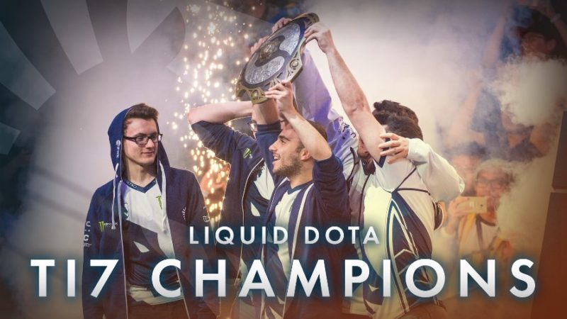 Team Liquid Sponsored by Razer Wins Dota 2 First Place and $10.8M at The International 2017