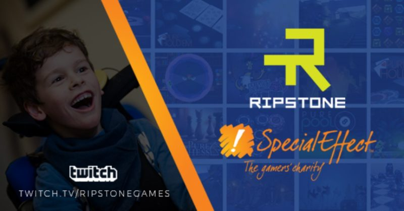 Ripstone Pledges Ongoing Support to SpecialEffect Gamers Charity