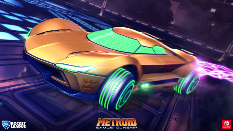 PSYONIX New Trailer Reveals Nintendo Switch Exclusive Battle-Cars Coming to Rocket League
