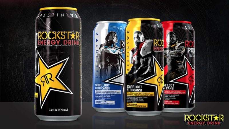 DESTINY 2 Partners with Rockstar Energy Drink and Pop-Tarts for Worldwide September Launch