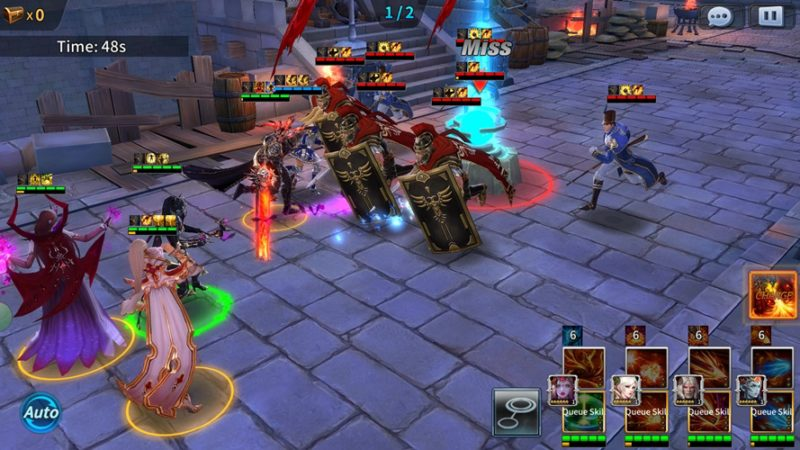SOUL OF HEROES: EMPIRE WARS RPG-Strategy Hybrid Now Available for Mobile