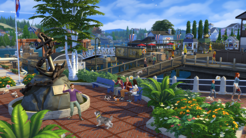 THE SIMS 4 Cats & Dogs Expansion Pack Announced by EA at gamescom 2017