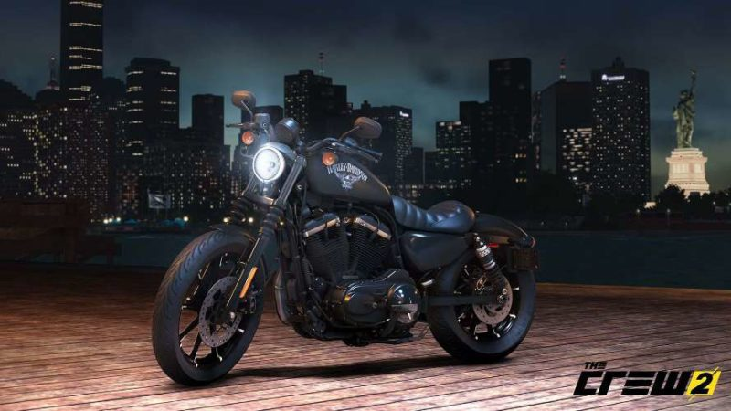 THE CREW 2 American Open World Lets You Burn Rubber with Exclusive Harley-Davisdon Motorcycles
