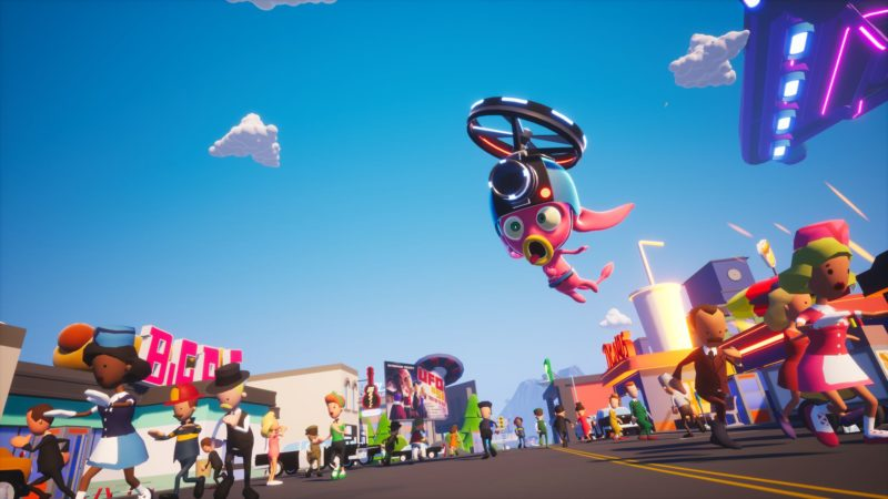 Cloudgine Reveals New Cloud Gaming Proof-of-Concept game THEY CAME FROM SPACE
