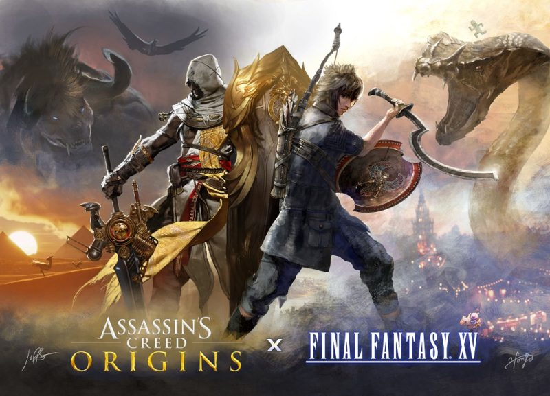 FINAL FANTASY XV and ASSASSIN'S CREED Collaboration Event Announced by Square Enix