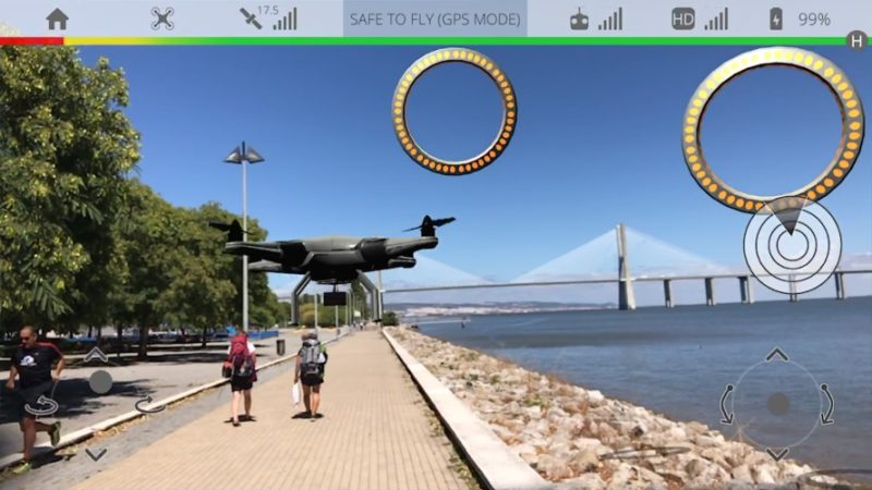 Dronetopolis AR ARKit-Powered Drone Simulator Available Now on iOS