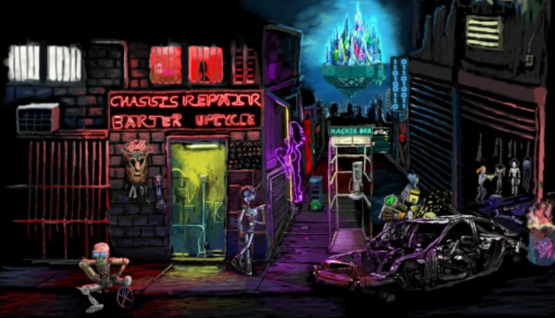 NEOFEUD by Hawaiian Developer Silver Spook Games is Coming to Steam Sept. 19