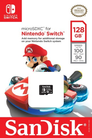 Nintendo Partners with Western Digital to Create Licensed Nintendo Switch SanDisk Memory Cards