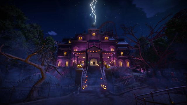 Planet Coaster Spooky Pack Now Available
