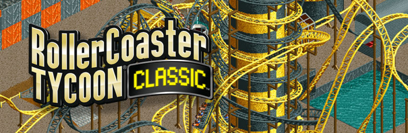 RollerCoaster Tycoon Classic Available Now on PC and Mac