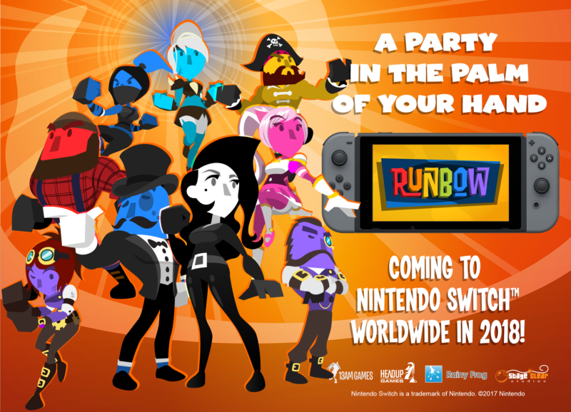 Tokyo Games Show 2017: Runbow Coming to Nintendo Switch in 2018