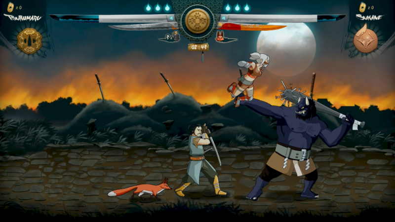 SAMURAI RIOT Addictive 2D Side Scrolling Beat'em Up Releases on Steam Sept. 13