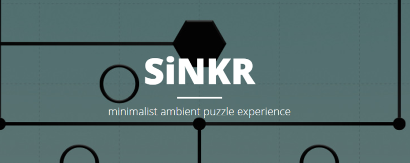 SiNKR Minimalist Puzzle Game Coming to Steam and iOS in October