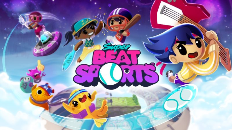 Harmonix Releases Super Beat Sports on Nintendo Switch