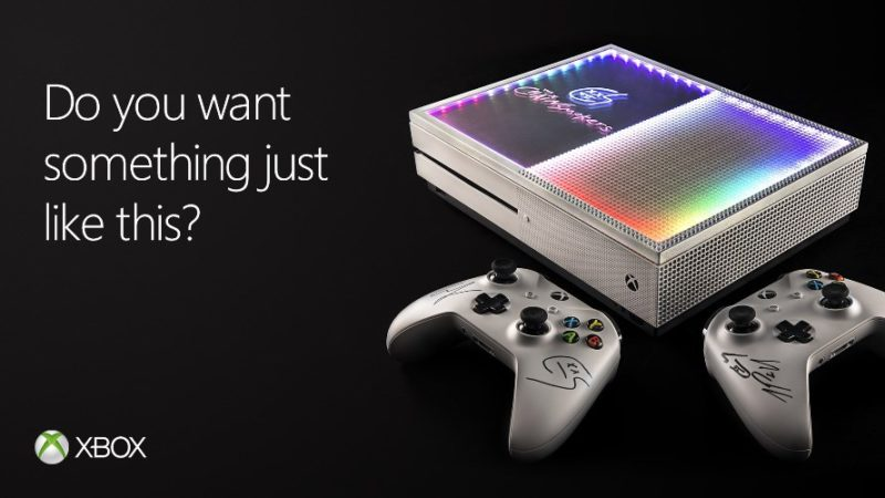 Xbox Creates Custom Xbox One S Console with The Chainsmokers