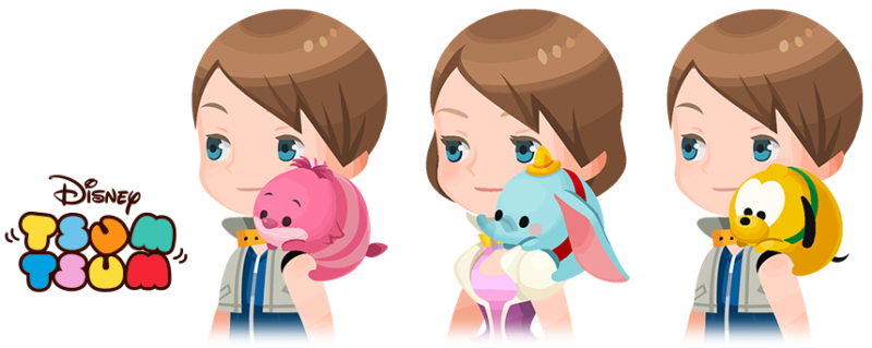 KINGDOM HEARTS UNION χ[CROSS] Limited-Time Disney TSUM TSUM Events Begin Today