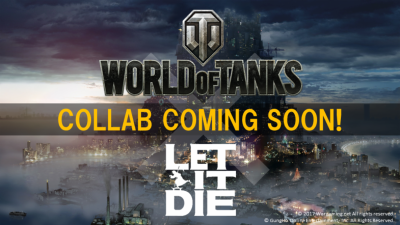World of Tanks Collaborates with LET IT DIE to Bring Exclusive Content
