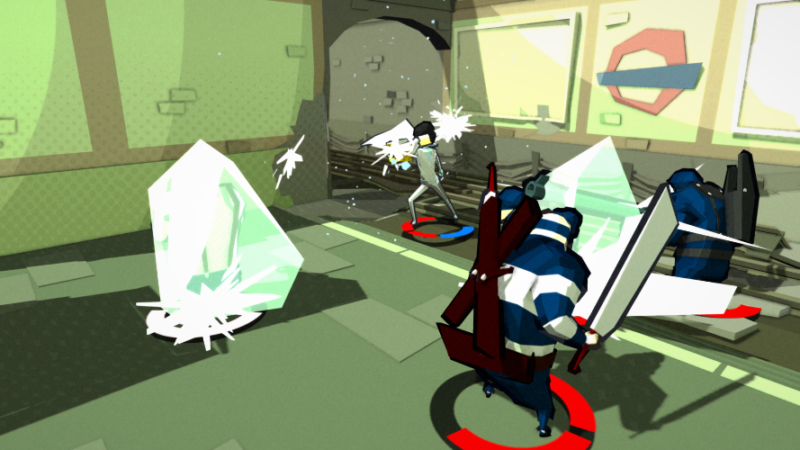 DEADBEAT HEROES Square Enix Collective's 3D Brawler Out Today on PC and Xbox One